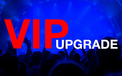 VIP Concert Ticket Upgrade