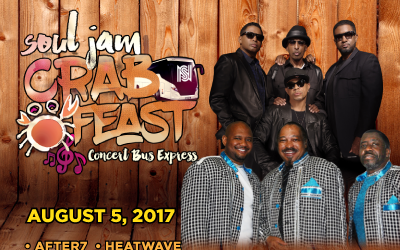 Soul Jam Crab Feast Concert Bus Express