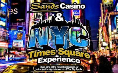 Times Square New York City Sands Casino Getaway